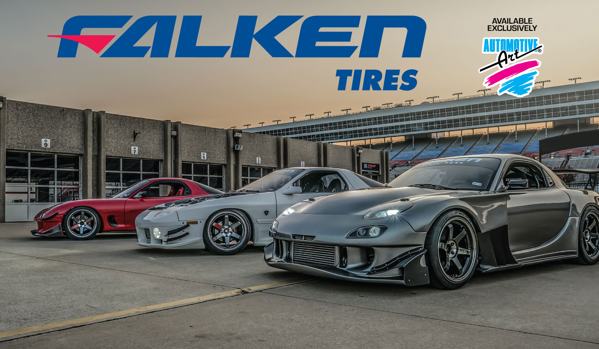 Features - Falken Web Banner