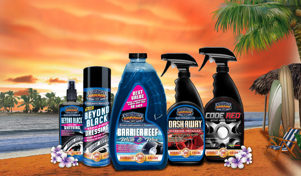 Surf City Garage - Premium Car Care Products are Now Available in Store