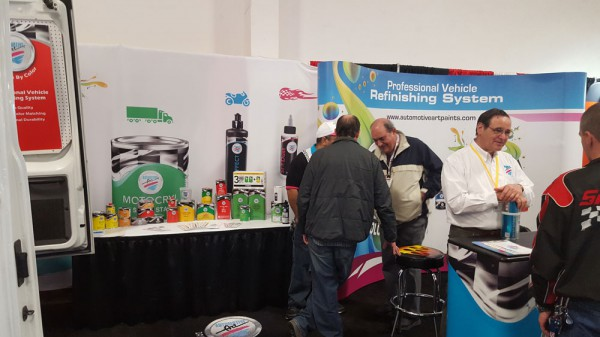 Automotive Art at the 2016 Northeast Tradeshow