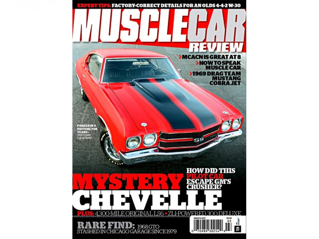 Click to read AArt Pilot 1970 Chevelle SS on the cover of Muscle Car Review