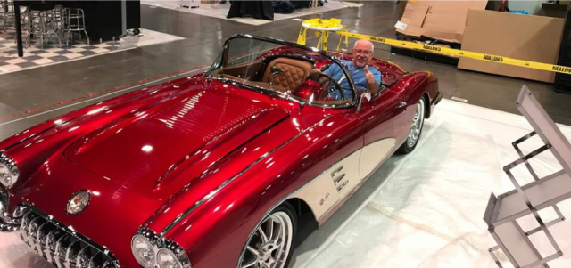 Click to read 1958 Chevy Corvette entered into SEMA 2018 Battle of the Builders